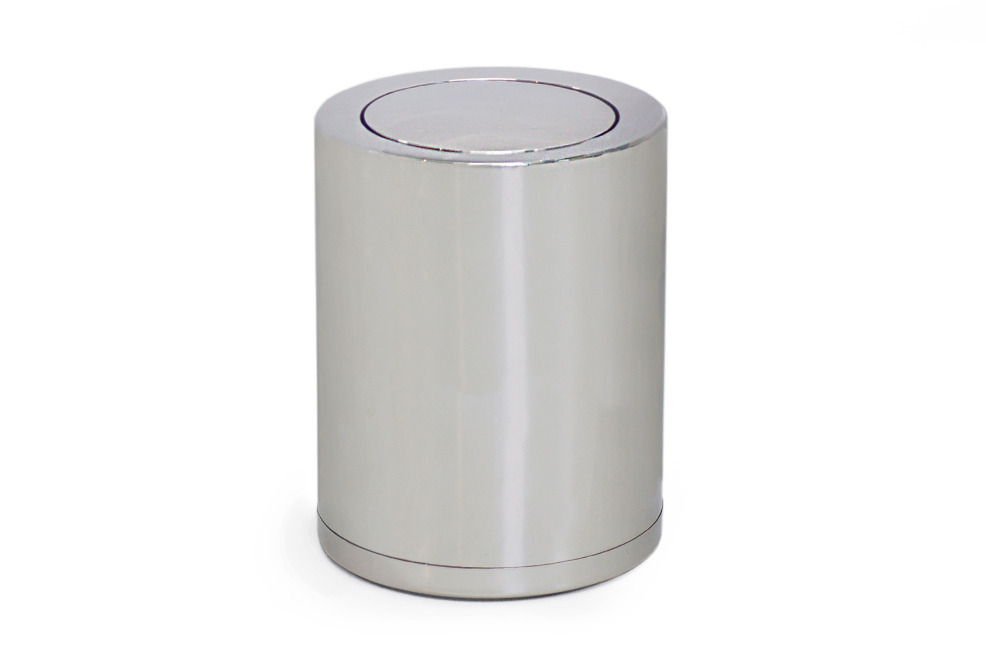 Stainless Steel Waste Bin With Lid